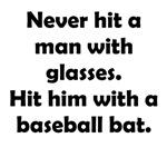 Glasses vs Baseball Bat