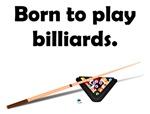 Born To Play Billiards