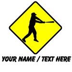 Baseball Batter Crossing