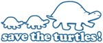 Save The Turtles! (blue)