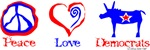 Peace Love Democrats