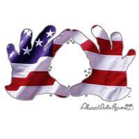 Hand Sign - American Flag