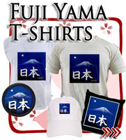 Mountain Fuji T-shirts, Japanese Tees