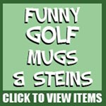 Golf Mugs, Steins and Drinkware