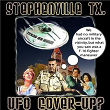 Texas flying saucer