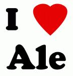 I Love Ale