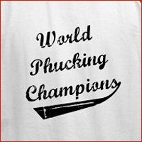 World Phucking Champions, Black/White Text