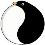 Yin yang penguin