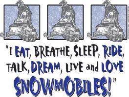 I Eat Breathe , Sleep, Ride talk Dream Live and LO