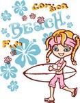 Girl Beach 01