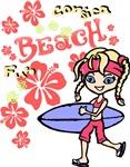 Girl Beach 05