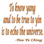 ECHO THE UNIVERSE...TAO TE CHING QUOTE