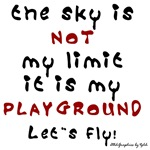 The sky is NOT