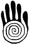 Sacred Hand - Black