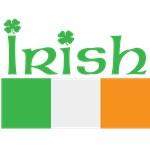 IRISH - FLAG & SHAMROCKS