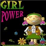 GIRL POWER GRAPHICS