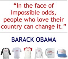Obama Quote: People Who Love Their Country