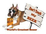 Boxer Don't Touch My Beer