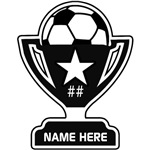 Soccer Star Personalized