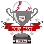 Personalized Baseball Trophy
