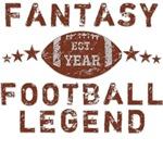 Fantasy Football Legend Personalized