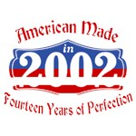 American made 2002 14th Birthday Shirt