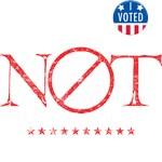 NOT MY PRESIDENT F*CK TRUMP