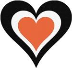 Orange and Black Love