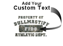 Personalized Property of Bullmastiff