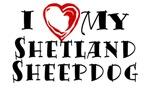 I Heart My Shetland Sheepdog