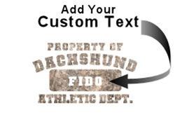 Personalized Dachshund