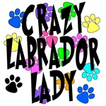 Crazy Labrador Lady