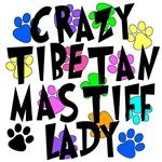 Crazy Tibetan Mastiff Lady