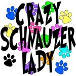 Crazy Schnauzer Lady