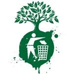 Tree Planet Trash