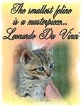 Famous Cats - Da Vinci's Cat