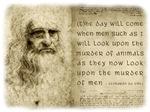 Da Vinci Animal Quote