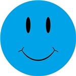 Smiley Blue Face