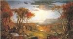 Vintage Autumn Scene