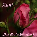 Rose Bud for my Aunt