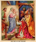 The Visit by the Three Wise Men