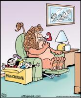 Cowardly Lion's Munchkins