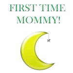First time mommy with moon