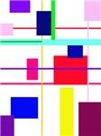 Geometric Rectangle Plaid
