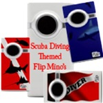 Flip Mino Camcorder-Scuba Diving Themed
