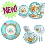 Melamine Dishes, Cups and Chip & Dip Server