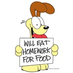 Odie Eats Homework