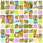 Classic Garfield Squares