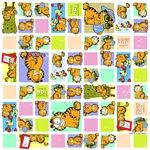 Classic Garfield Squares