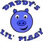 Daddy's Lil' Piggy (blue)
